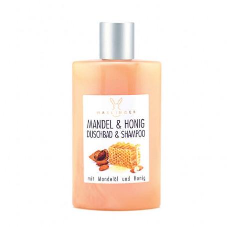Shampoing Gel Douche au Miel et Amande - Haslinger