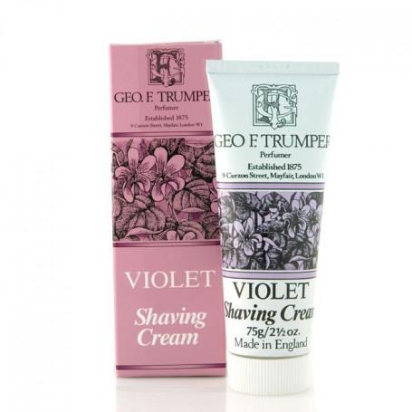 """Crème de rasage """"Violet"""" en Tube - Geo F.Trumper"""