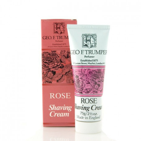 """Crème de rasage """"Rose"""" en Tube - Geo F.Trumper"""