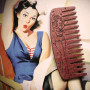 """Peigne à Barbe N°9 """"Sailor Pin-Up Edition"""" - Big Red"""
