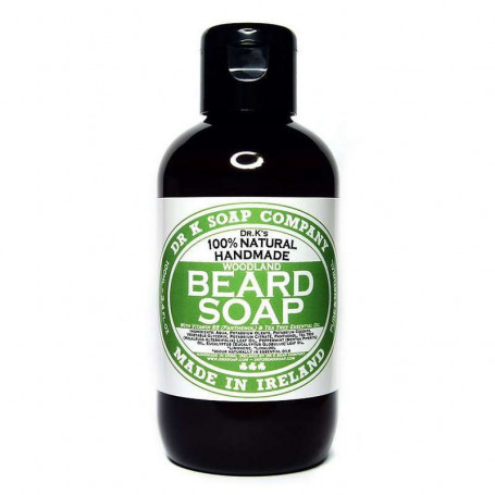 """Shampoing Naturel pour la Barbe """"Woodland"""" - Dr K Soap Co."""