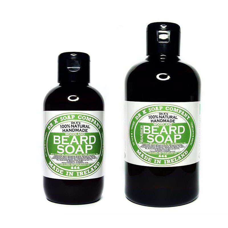"Shampoing Naturel pour la Barbe ""Woodland"" - Dr K Soap Co."