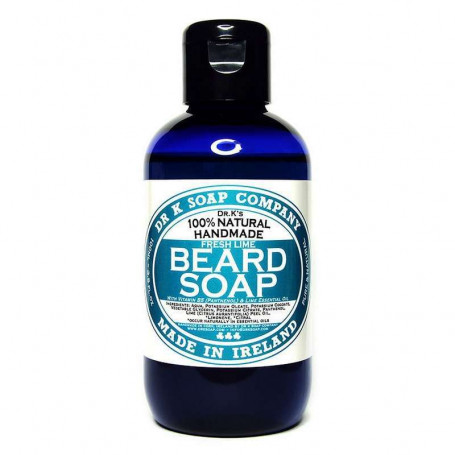 "Shampoing Naturel pour la Barbe ""Fresh Lime"" - Dr K Soap Co."
