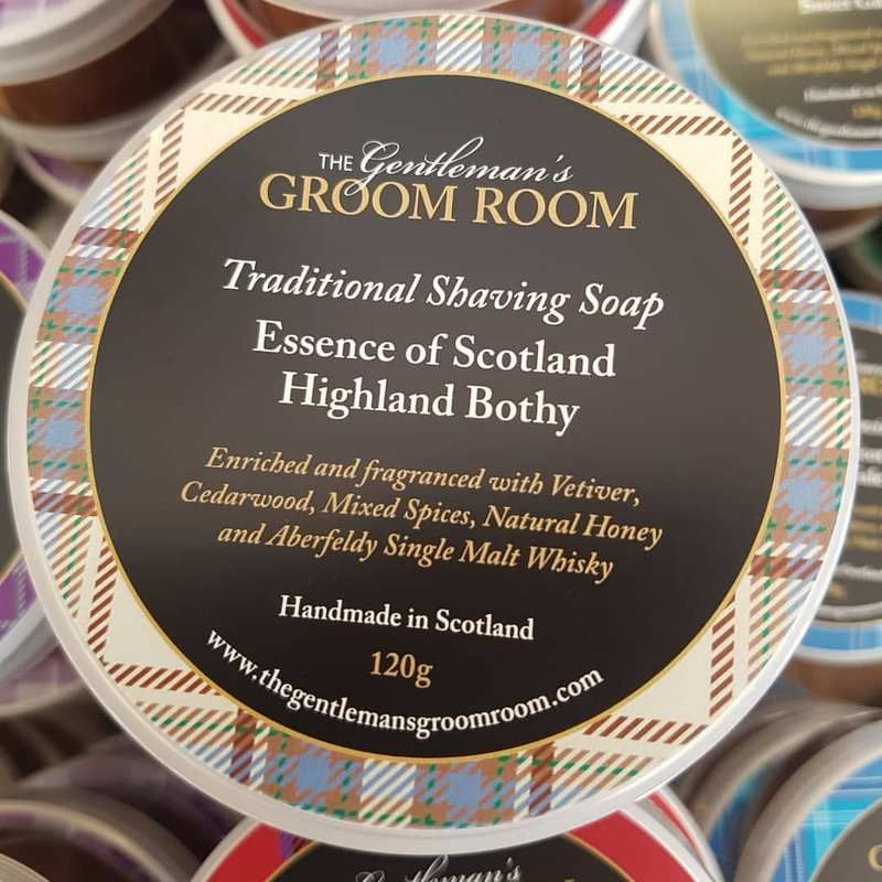 "Savon à Barbe Artisanal ""Highland Bothy"" - The Gentleman's Groom Room"