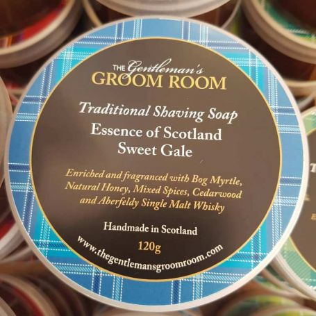 "Savon à barbe artisanal ""Sweet Gale"" - The Gentleman's Groom Room"