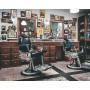 """Affiche Style Vintage """"Listerine"""" pour Barbershop"""