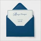 E-Carte Cadeau Rasage Classique - 100€