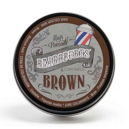 """Cire Coiffante et Colorante """"Brun"""" - Beardburys"""