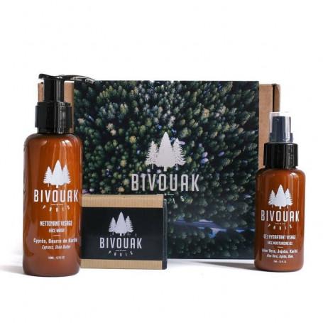 Coffret Cadeau de Soins Bio pour Homme - Bivouak