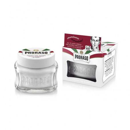Crème Avant-Rasage pour Peaux Sensibles  - Proraso