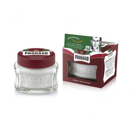 Crème Avant-Rasage pour Barbes Dures - Proraso