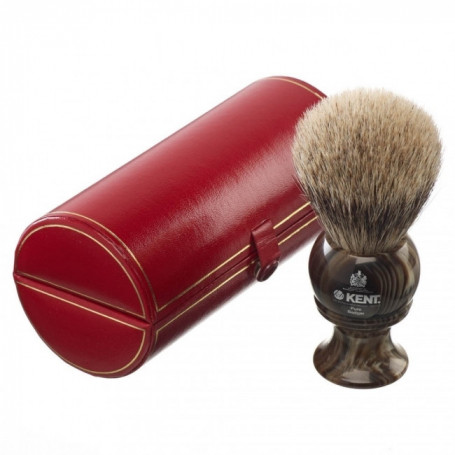 Blaireau de Rasage XL Best Badger façon Corne - Kent H8