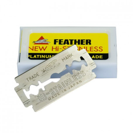 Lames de rasoir Feather - Pack de 10