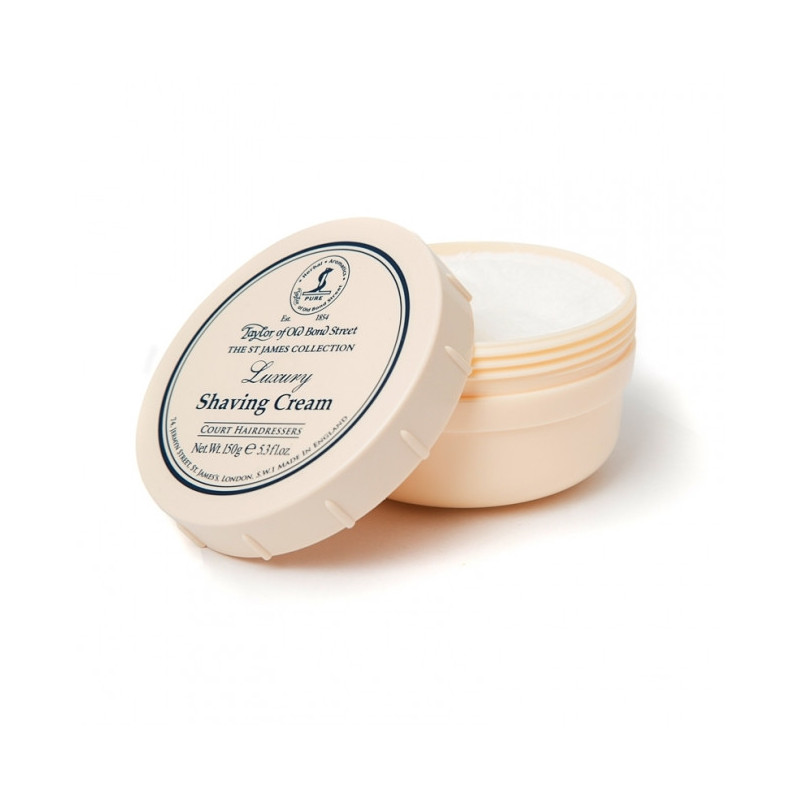 "Crème à Raser ""St James Collection"" en Bol 150g - Taylor"