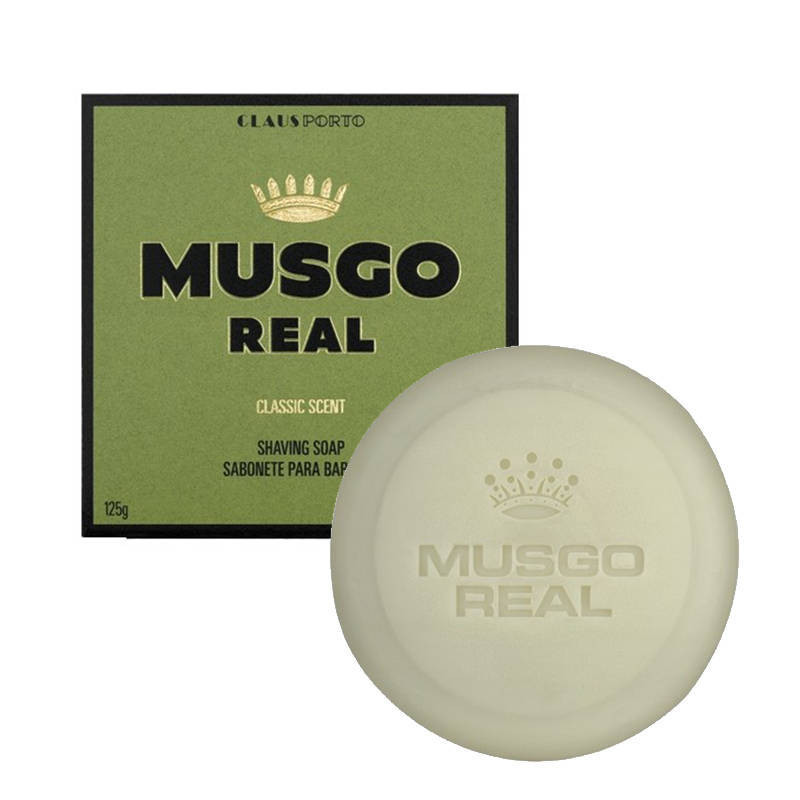 "Recharge de Savon à Barbe ""Classic Scent"" - Musgo Real"