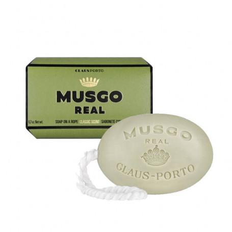 """Savon de Toilette avec Cordelette """"Classic Scent"""" - Musgo Real"""