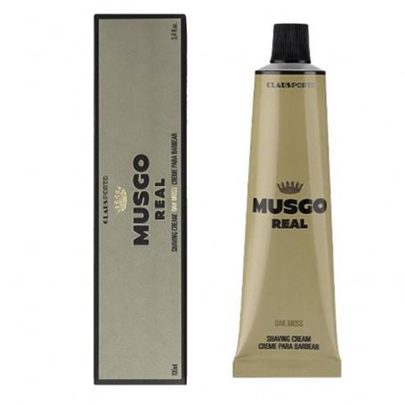 """Crème de Rasage en Tube """"Oak Moss"""" - Musgo Real"""