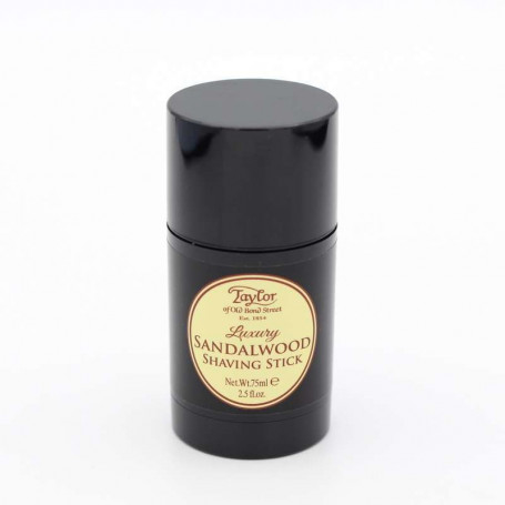 "Stick de Savon à Barbe ""Sandalwood"" 75ml - Taylor"