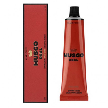 "Crème de Rasage en Tube ""Spiced Citrus"" - Musgo Real"