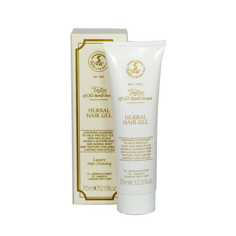 "Gel coiffant ""herbal hair gel"" tube 75 g - Taylor"