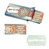 "Lames de Rasoir Merkur ""Super Platinum"" - Pack de 10"