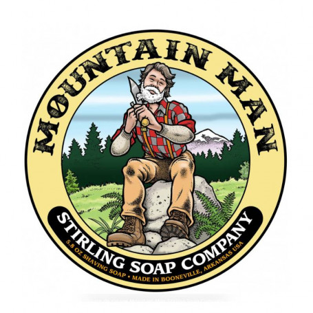 Savon de Rasage Mountain Man - Stirling Soap Company