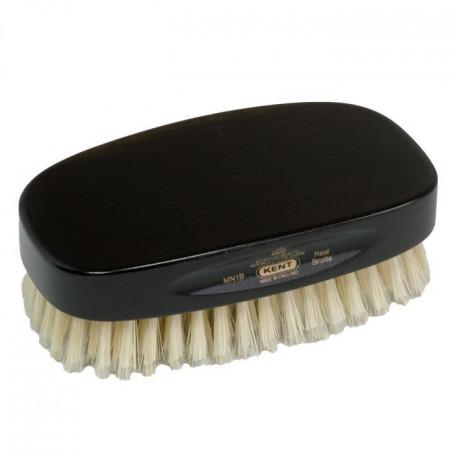 Brosse à cheveux Military Poils de Sanglier blancs et Ébène- Kent