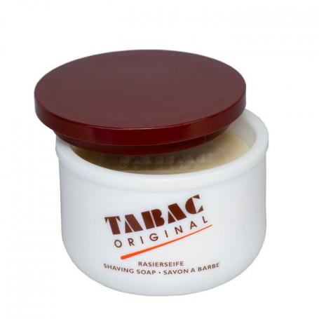 Savon à barbe en bol opaline - Tabac Original
