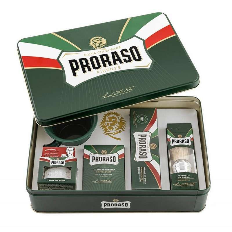 coffret cadeau de rasage pour homme proraso rasage classique. Black Bedroom Furniture Sets. Home Design Ideas