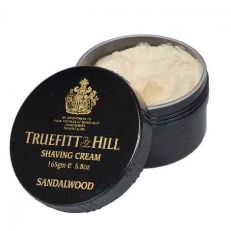 "Crème à Raser ""Sandalwood"" en Bol -Truefitt & Hill"