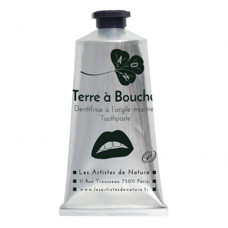 """Dentifrice """"Terre à Bouche"""" Bio Sans Fluor - Les Artistes De Nature"""