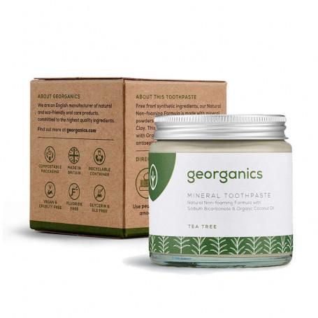 Dentifrice BIO Parfum Tea Tree - Georganics