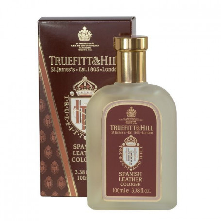 "Eau de Cologne ""Spanish Leather"" - Truefitt & Hill"