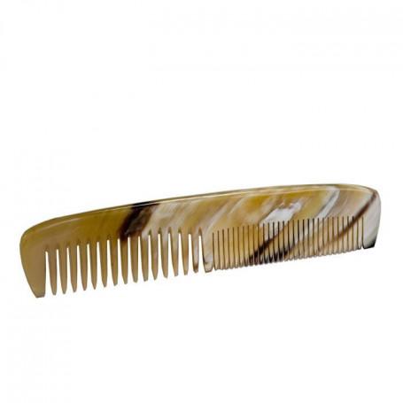 Petit Peigne à Cheveux de Poche en Corne - Abbeyhorn