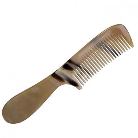 Grand Peigne à Cheveux Femme en Corne Grand Modèle - Abbeyhorn