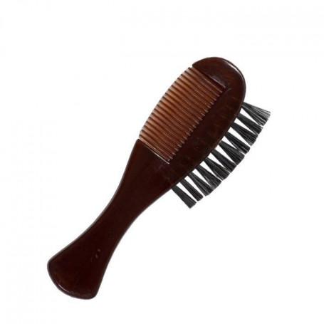 Peigne-brosse à moustache Dovo
