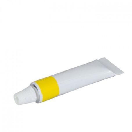 Pâte jaune pour Cuir d'affûtage en Tube - Herold