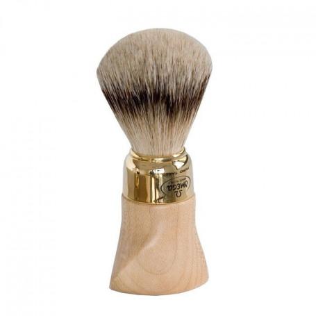 Blaireau de Rasage en bois d'Érable - Omega 6538
