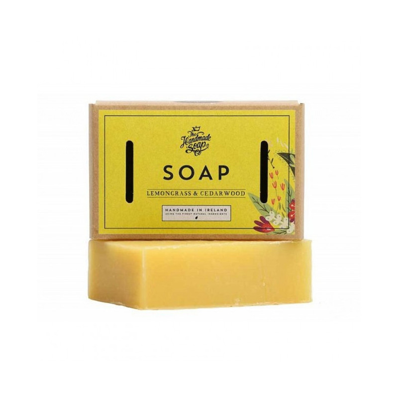 Savon Naturel au Citron et Cèdre - Handmade Soap Co.