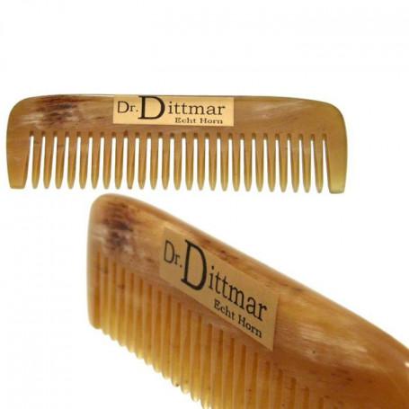 Peigne à Moustache en Corne Blonde - Dr Dittmar