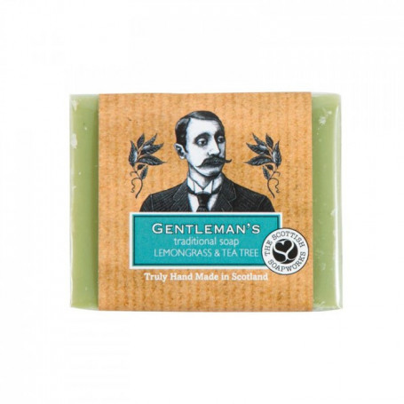 Savon Traditionnel Citron et Arbre à Thé - Scottish Soapworks