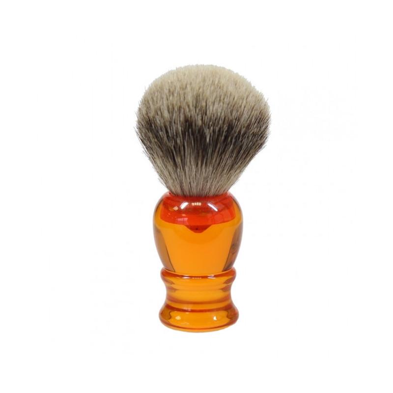 Achat d'un premier blaireau Blaireau-de-rasage-pur-argente-orange-rc-ig-3669