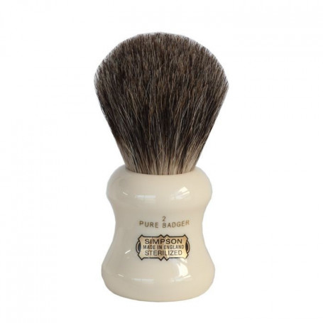 "Blaireau de Rasage ""Eagle"" Pure Badger - Simpsons"