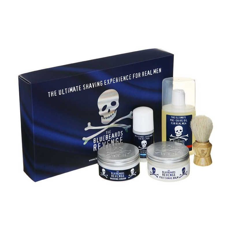 coffret barbes dures 39 deluxe kit 39 bluebeards revenge angleterre. Black Bedroom Furniture Sets. Home Design Ideas