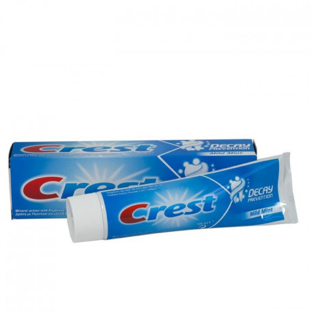 "Dentifrice Crest ""Prevention"""