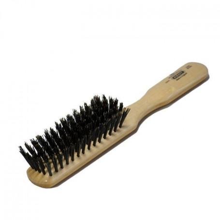 Brosse à cheveux Femme en bois et soies naturelles - Kent