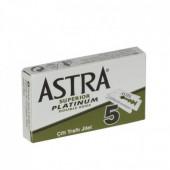 "Lames de Rasoir Astra ""Superior Platinum"" - Étui de 5"