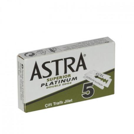 """Etui de 5 Lames Astra """"Superior Platinum"""""""