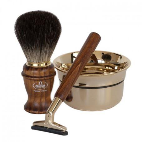 Coffret Cadeau de Rasage Pour Homme avec Rasoir GII - Omega