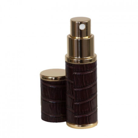 Flacon Atomiseur Parfum de Voyage Recouvert de Cuir - 8ml